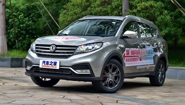 Нарынок выходит обновленный кроссовер Dongfeng 580