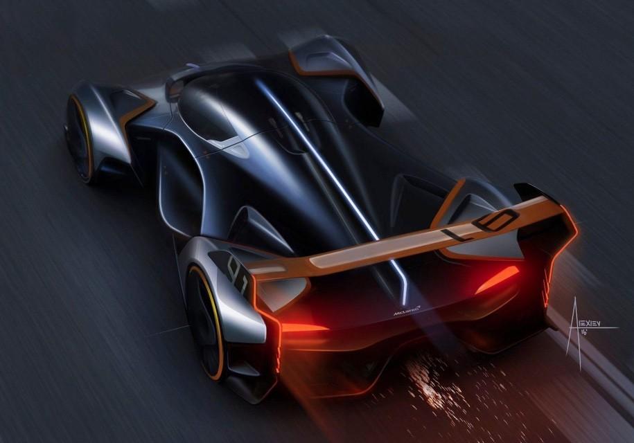 МакЛарен создал виртуальный 1150-сильный гиперкар для игры Gran Turismo