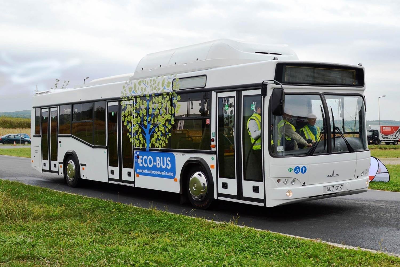 ВКрасноярске будет больше автобусов сэко-двигателями