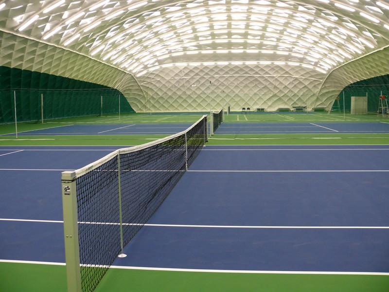 В новейшей столице России построят теннисный корт соскалодромом нафасаде