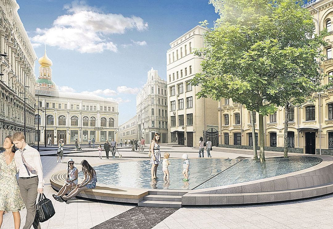 Биржевая площадь в столице будет пешеходной с23сентября