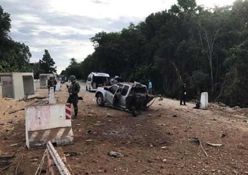 При взрыве вТаиланде погибли четверо военных