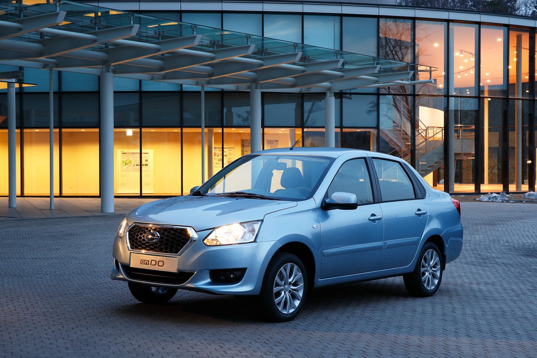Продажи Datsun в РФ увеличились практически натреть