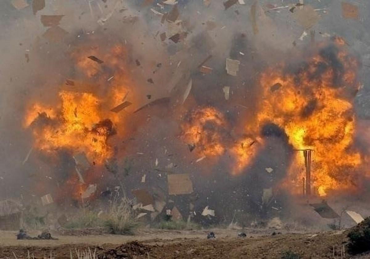 Назаводе фейерверков в КНР произошел взрыв