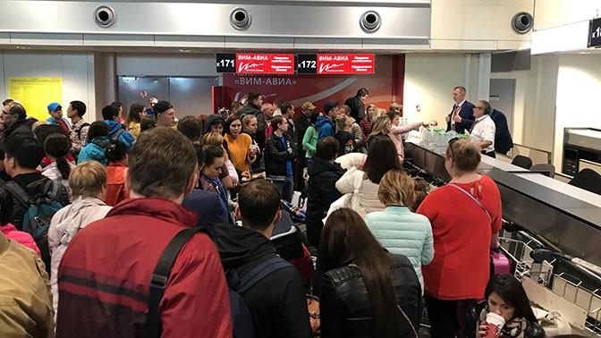 «ВИМ-Авиа» задержала рейс из«Пулково» практически на12 часов