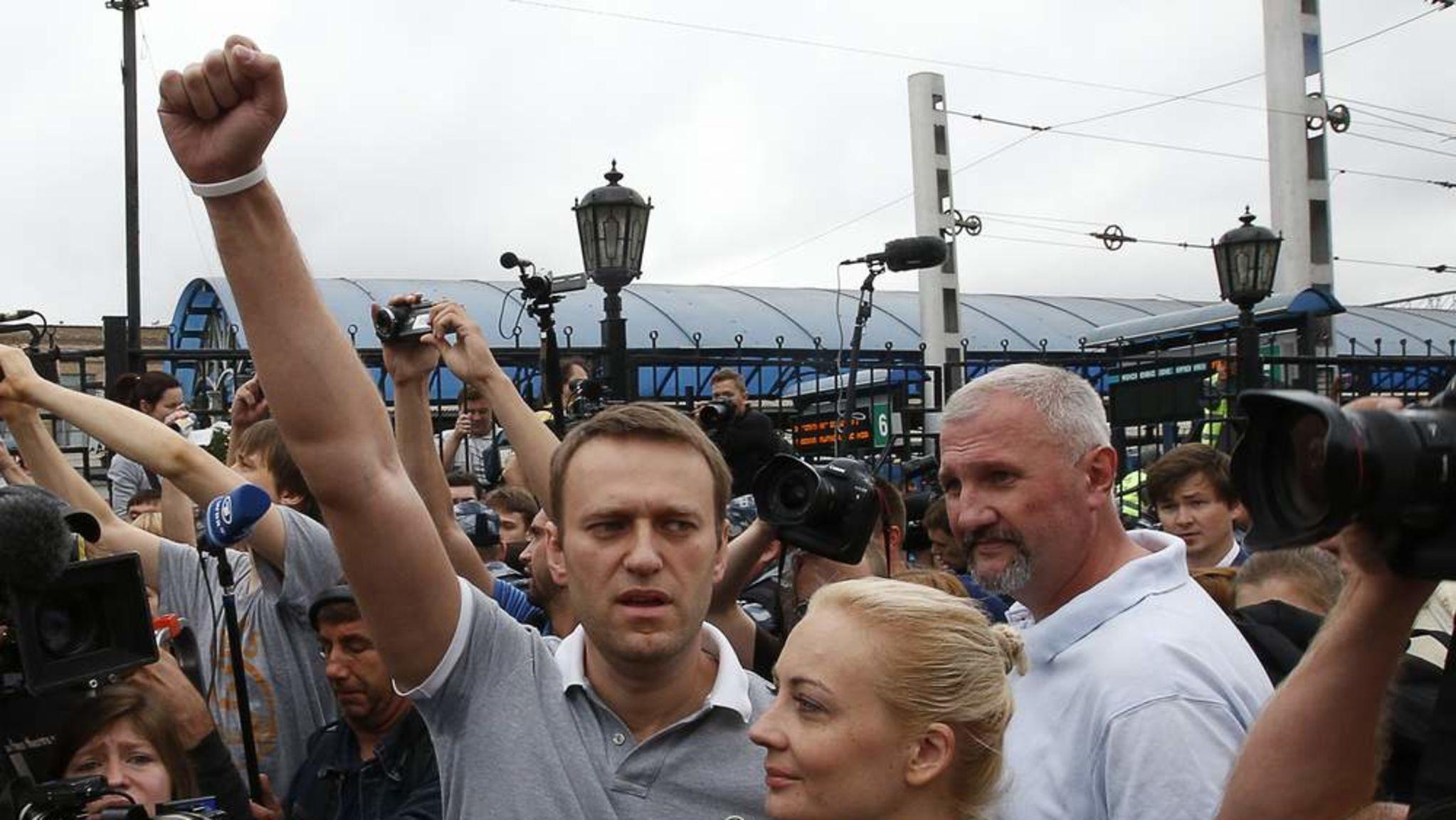 Митинг Алексея Навального вКрасноярске отменили