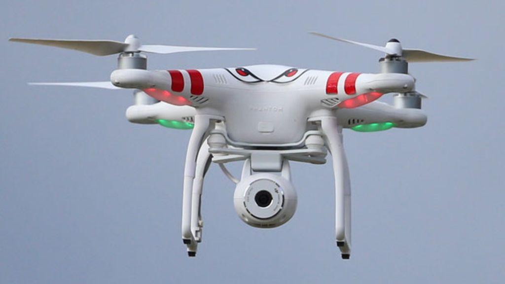 Внебе над Лондоном дрон столкнулся сНЛО и пропал