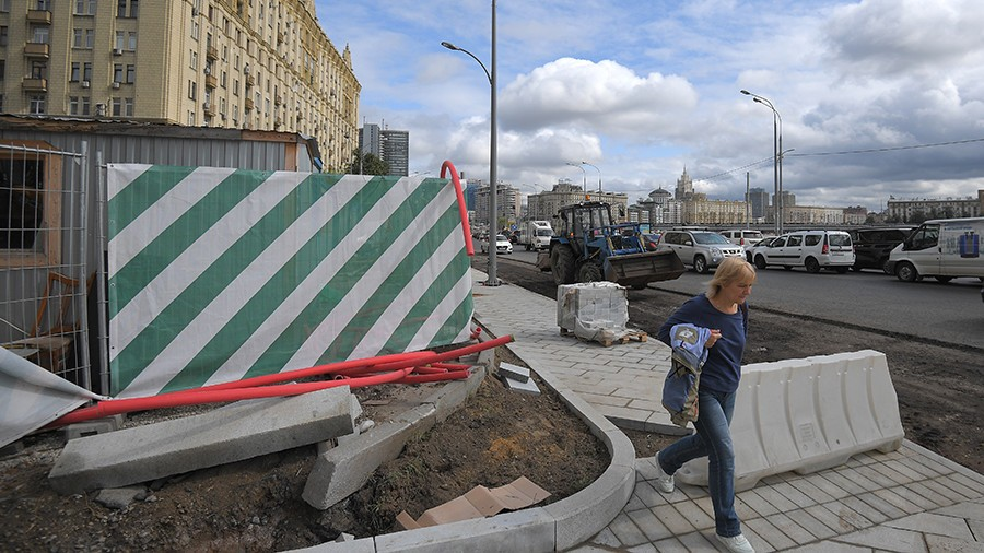 Улицу насевере столицы перекроют из-за ремонтных работ с30сентября