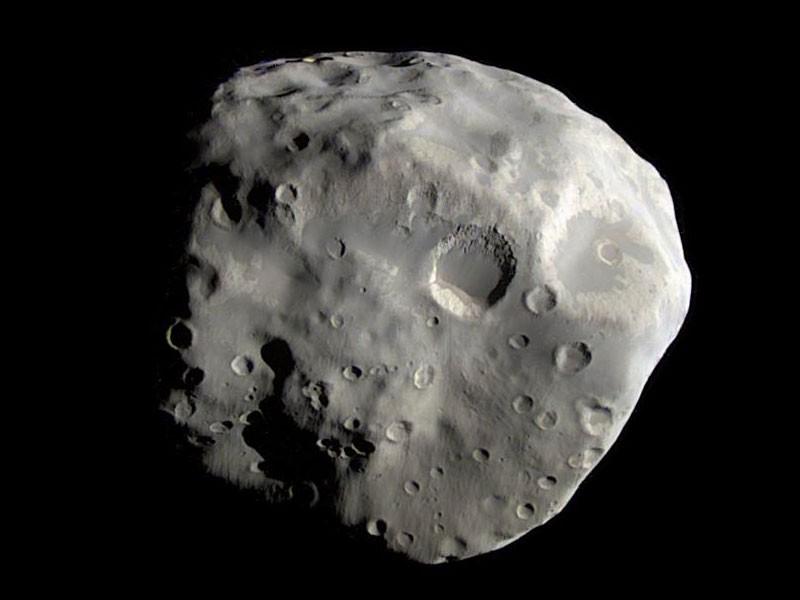 Наспутнике Сатурна Эпитемее найдены обломки НЛО
