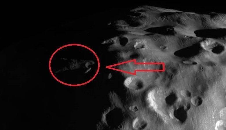 Наспутнике Сатурна найдены обломки НЛО