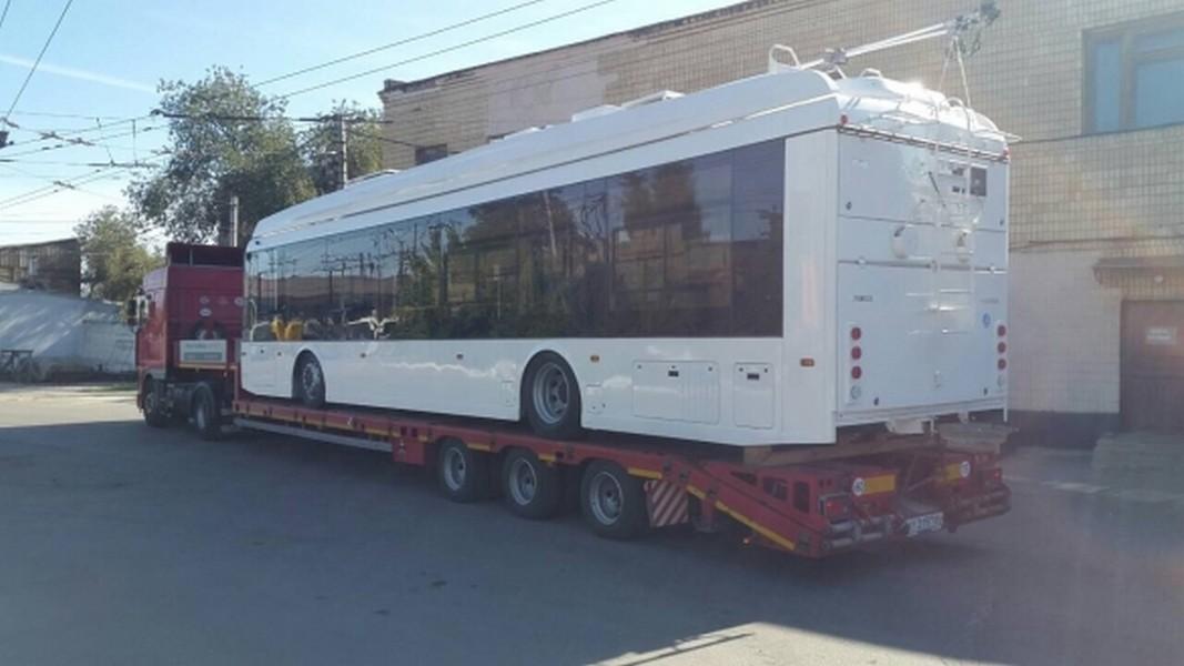 Как вАргентине: вВолгоград прибыл троллейбус обновленного поколения