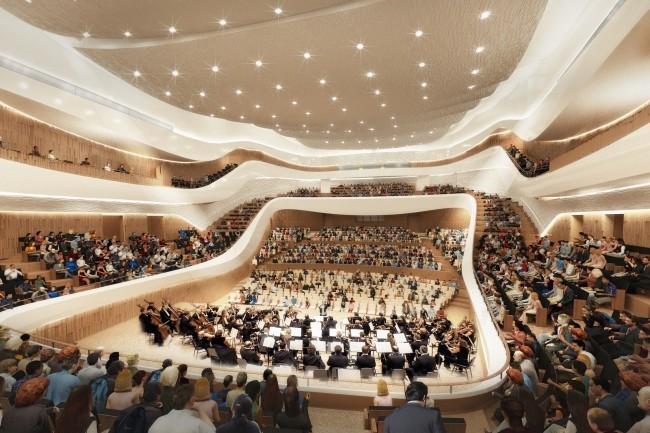 Осенью закончатся тестирования концертного зала впарке «Зарядье»