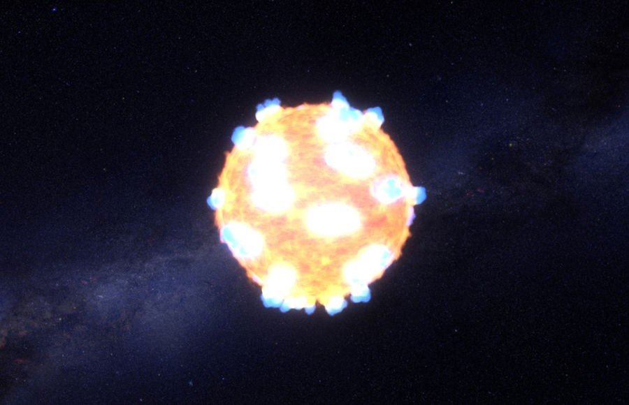 Красный гигант Бетельгейзе взорвется влюбой момент— астрономы