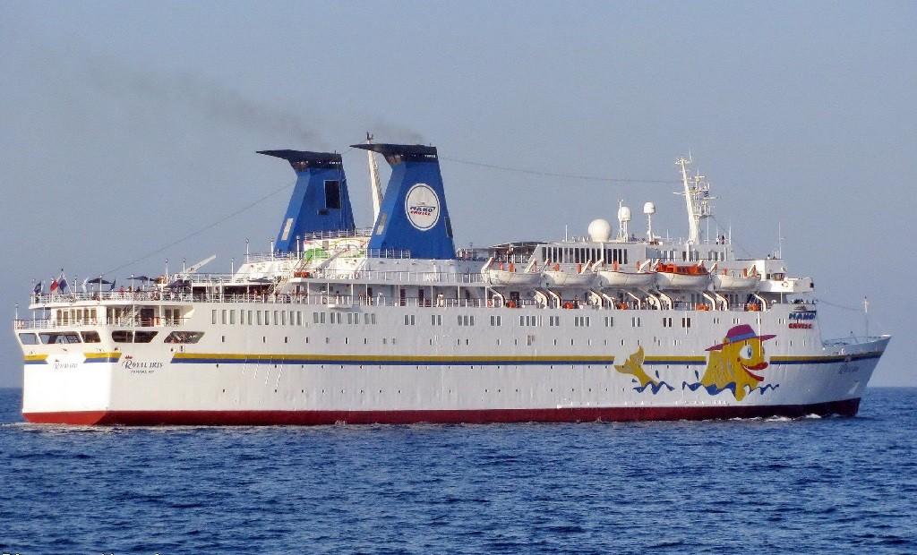 Девятипалубный круизный лайнер Князь Владимир несмог победить крымский шторм