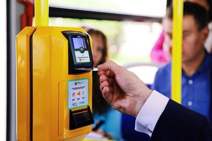 Сейчас вРостове можно оплатить проезд картой Сбербанка