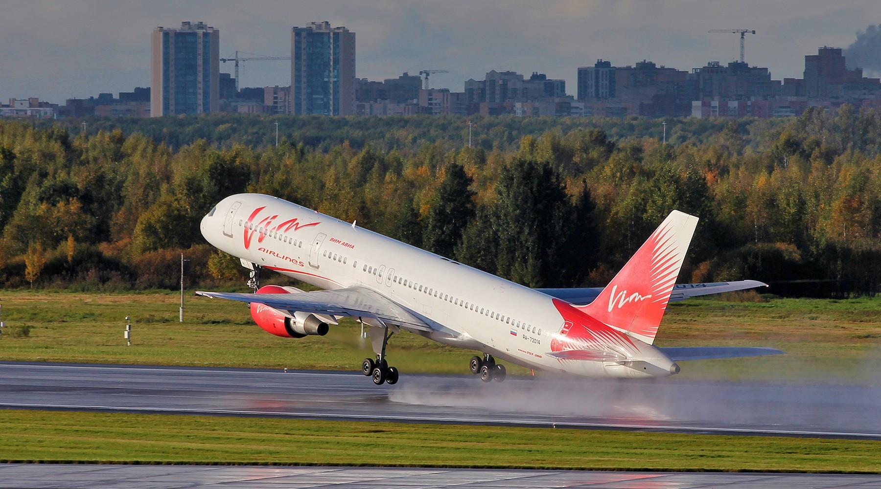 Транспортировка пассажиров рейсов «ВИМ-Авиа» закончится всередине октября
