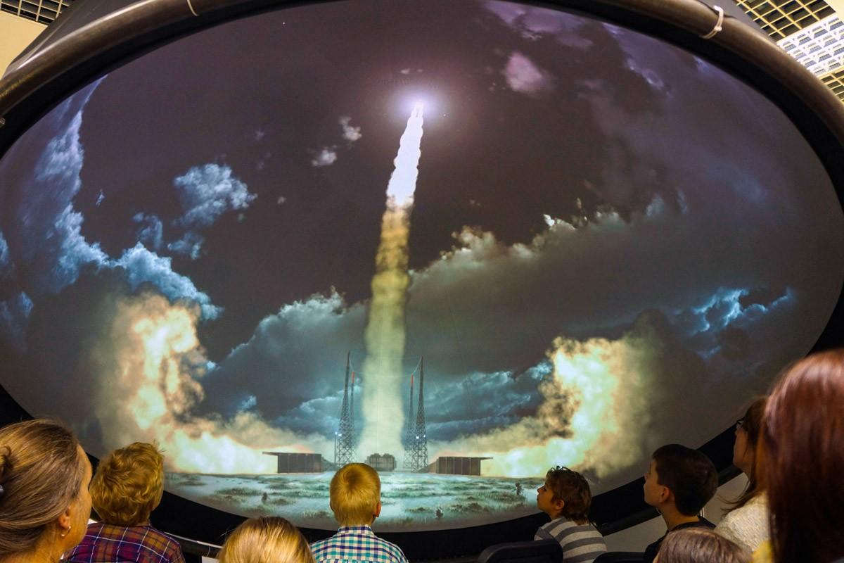 В столицеРФ настанции метро «Выставочная» откроется мобильный планетарий