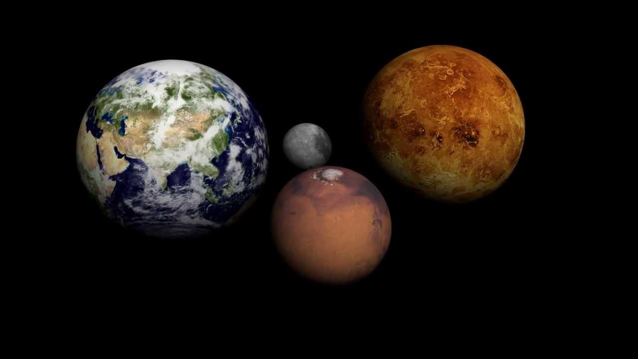 Земля и Марс потеряли половину собственной массы во время роста