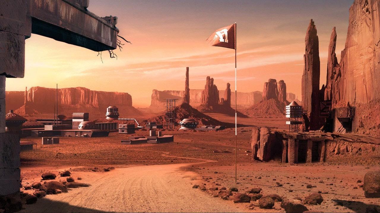 SpaceX начнет колонизацию Марса в 2022г.