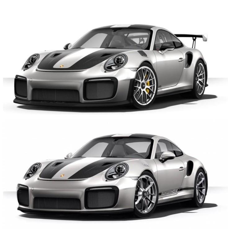 Дизайнеры презентовали рендер Порше 911 GT2 RSTouring Package