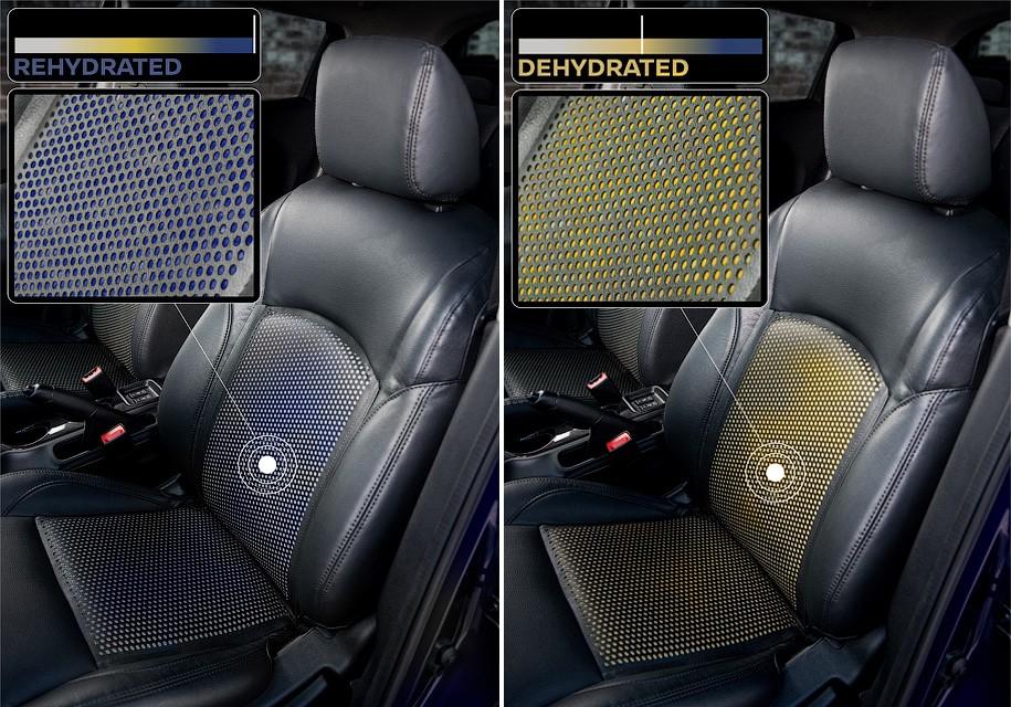 Новая технология Ниссан предупреждает водителей обобезвоживании организма