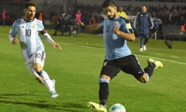 Аргентина и Уругвай расписали мировую в отборочном матче на ЧМ-2018
