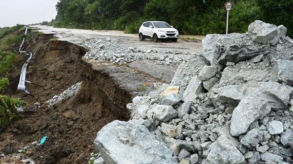 Ущерб от стихии дорогам в Приморье оценили в 800 млн. рублей