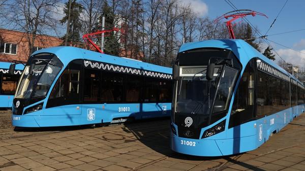 Москва внедрила в жизнь жителей 80 трамваев новейшей разработки