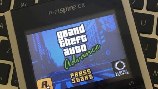 Культовую игру GTA установили на калькулятор