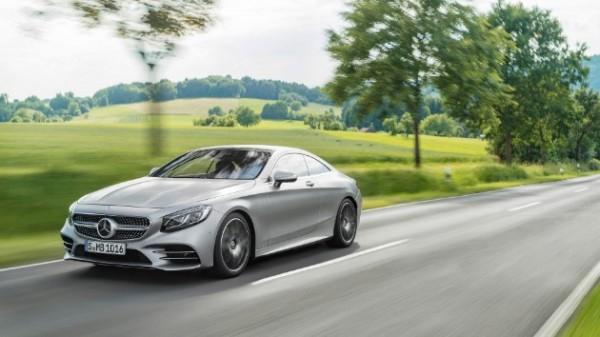 Mercedes-Benz рассекретил обновлённые купе и кабриолет S-Class 2018