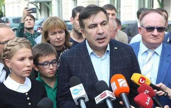Саакашвили прибыл на украинскую границу