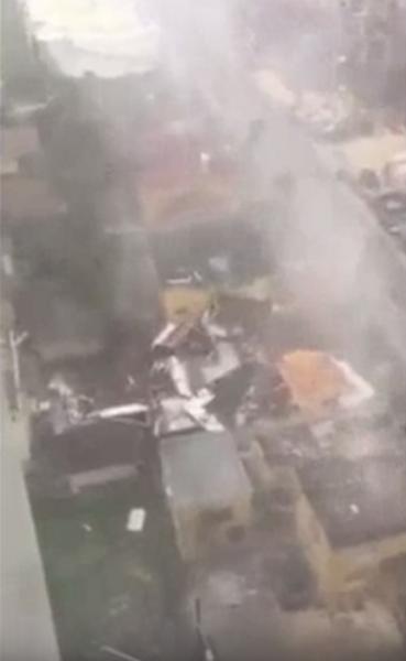 Появились первые фото разрушений ураганом