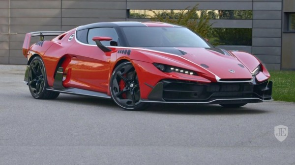 Суперкар Italdesign Zerouno оказался дороже Bugatti Chiron