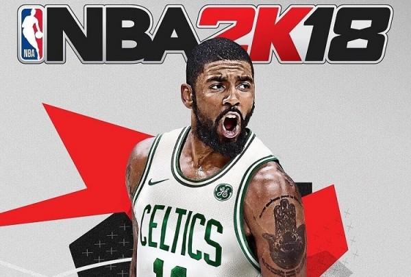 Обложку NBA 2K18 украсит Кайри Ирвинг
