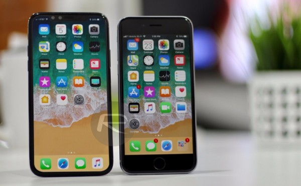 Apple добавили в iPhone 8 технологию распознавания лиц