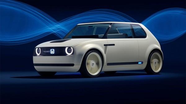 Honda представила во Франкфурте электрокар Honda Urban EV Concept