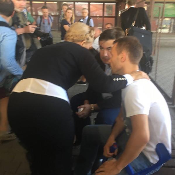 «Пятая точка» Тимошенко на встрече с Саакашвили развеселила соцсети