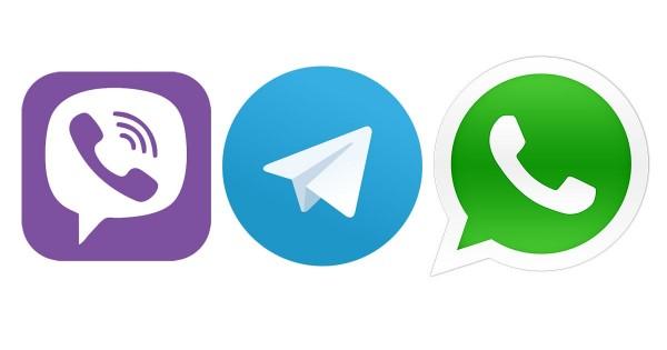 Telegram, WhatsApp и Viber признаны самыми упоминаемыми мессенджерами в РФ