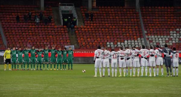 В Италии матчи по футболу начнутся лишь после минуты молчания