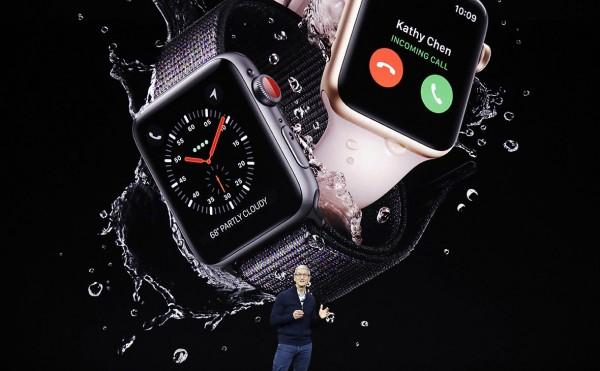 Состоялась презентация Apple Watch 3 с доступом к интернет и сотовой связи