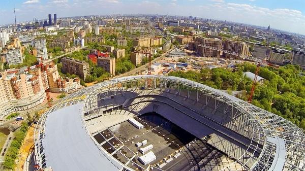 Стадион «Динамо» достроят перед началом ЧМ-2018