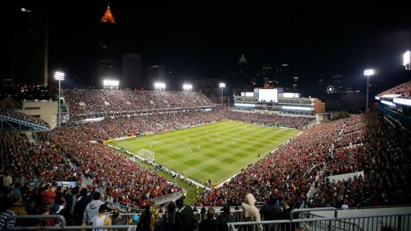 В Атланте побили рекорд по посещаемости чемпионатов MLS