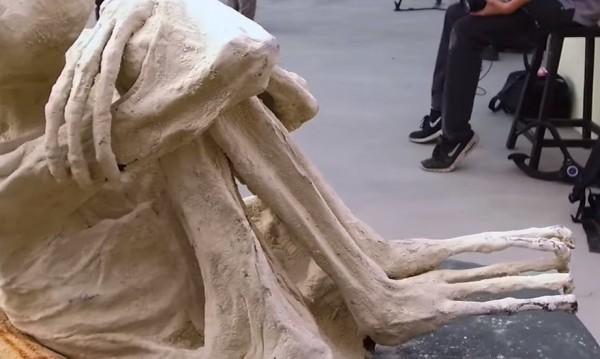 Учёные: Обнаруженные в Перу мумии являются инопланетными рептилиями