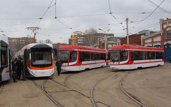 В Самаре появились трехсекционные трамваи