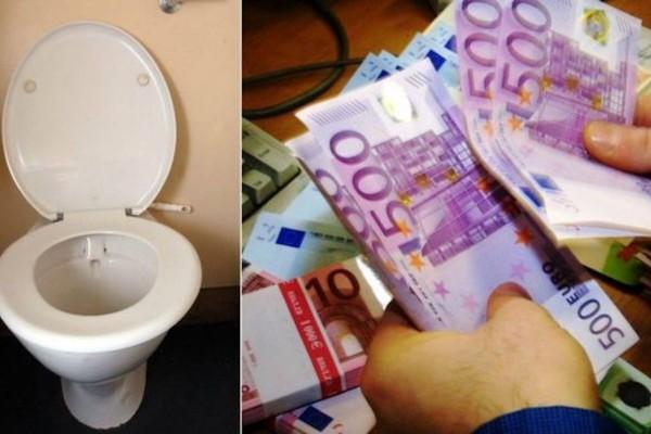В Женеве обнаружили сотни тысяч евро в канализации