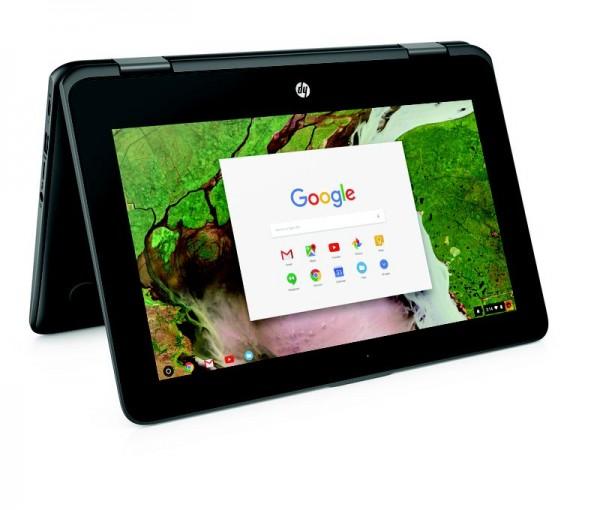 HP выпустила ноутбук Chromebook x360 для школьников