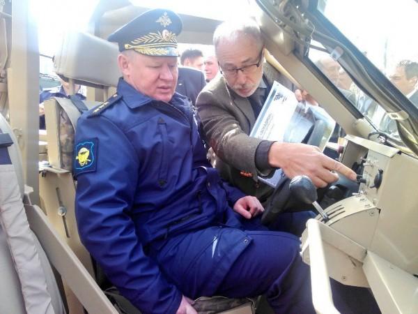 Главком ВДВ Сердюков получил травмы в ДТП в Мурманской области