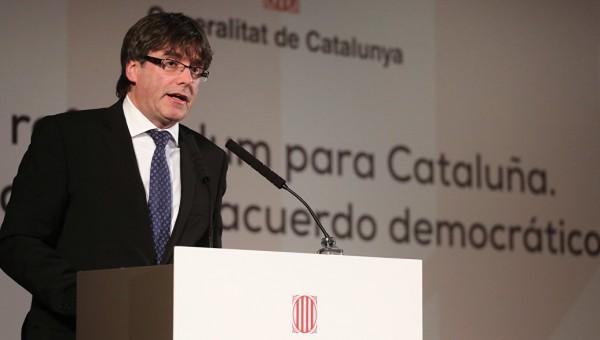 Глава Каталонии заявил о фактическом лишении региона автономии
