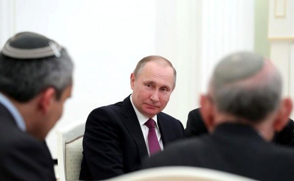 Владимир Путин поздравил иудеев с Новым годом