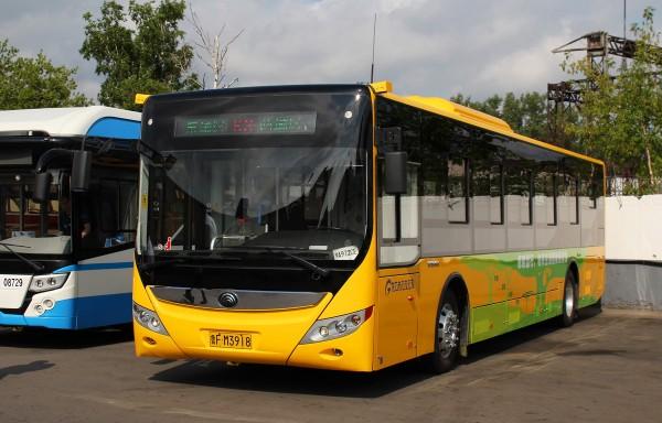 В Челябинске испытают китайский электрический автобус